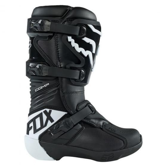 Мотоботы подростковые Fox Comp Youth Boot Black Y8