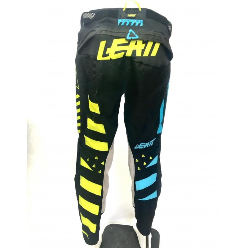 Мотоштаны Leatt GPX 5.5 I.K.S Pant Black/Lime W32 M
