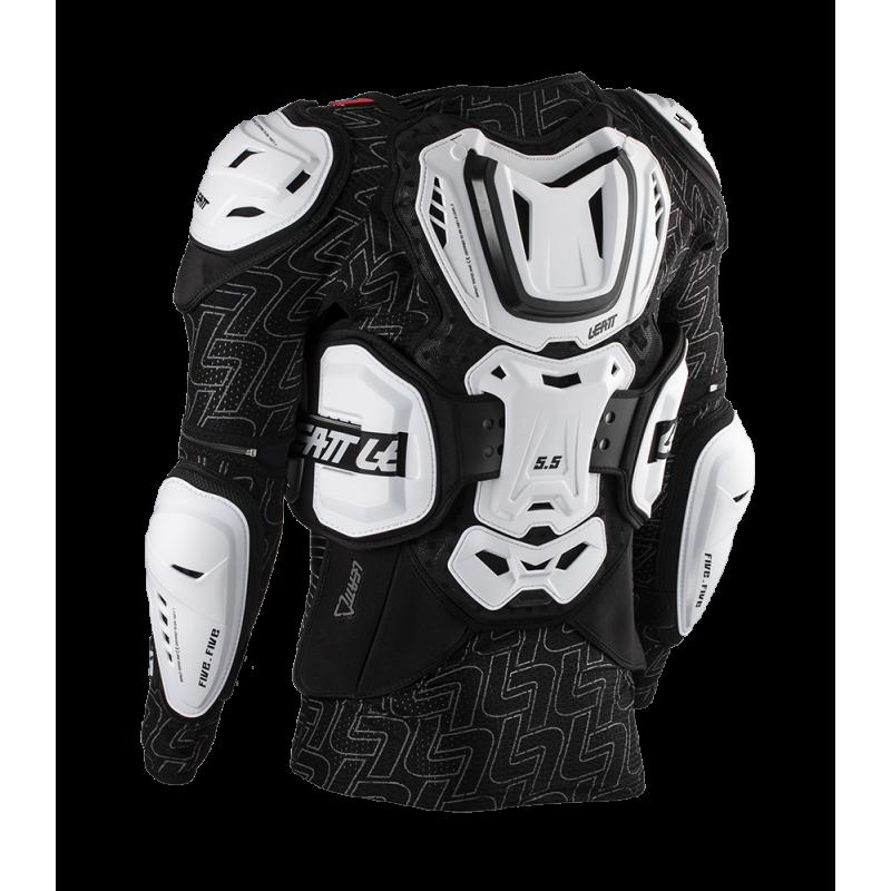 Защита панцирь Leatt Body Protector 5.5 White
