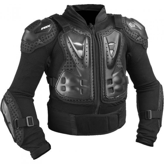 Защита панцирь подростковый Fox Titan Sport Black