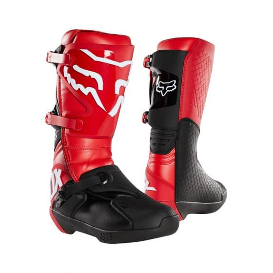 Мотоботы Fox Comp Boot Flame Red 10