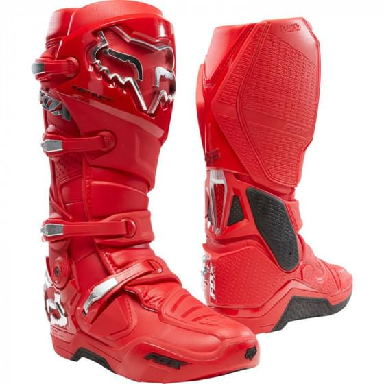 Мотоботы Fox Instinct Boot Prey Flame Red 11