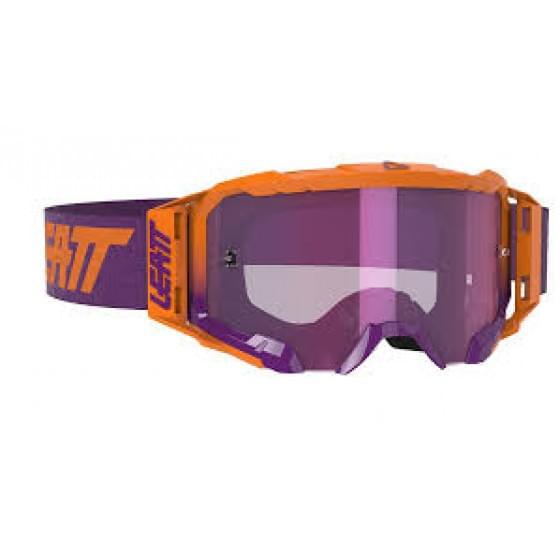 Очки Leatt Velocity 5.5 Iriz Neon Orange/Purple