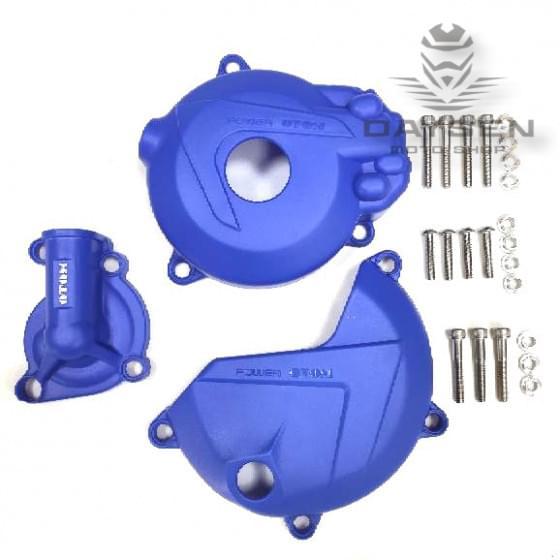 Защита крышек мотора OTOM синяя