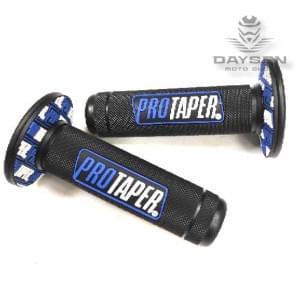 Грипсы черные/синие PRO-TAPER