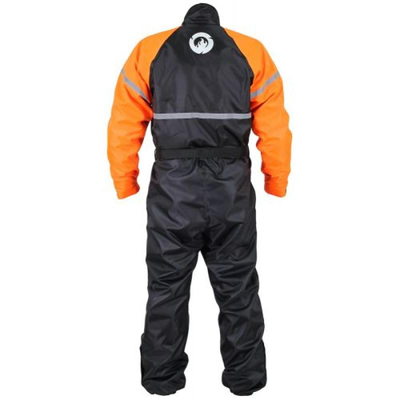 Комбинезон дождевик INFLAME RAIN JOINT, цвет черно-оранжевый, размер XS