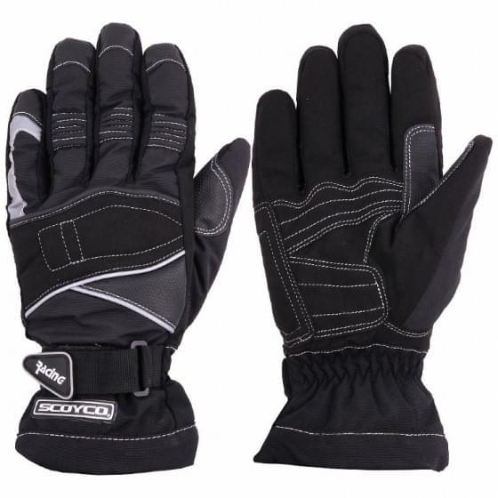 Перчатки SCOYCO МС-15, черный, L