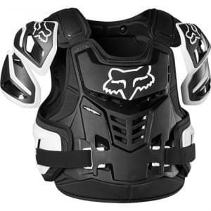 Защита панцирь Fox Raptor Vest (Black/White, L/XL)