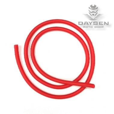 Бензоншланг 4-8 мм PVC красный