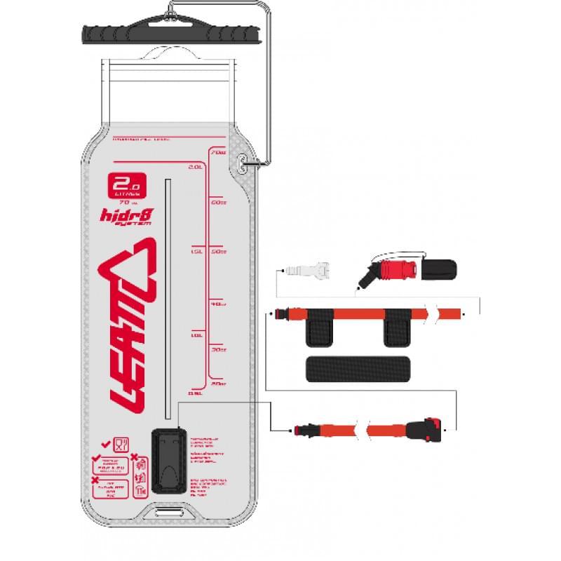 Гидропак Leatt Flat Cleantech Bladder Pack 2L