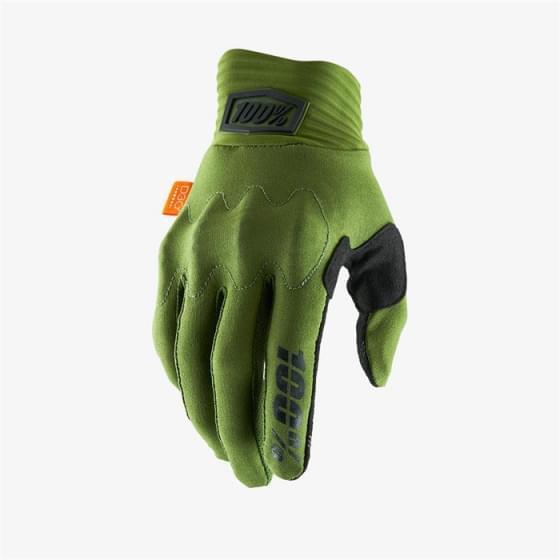 Мотоперчатки 100% Cognito D3O Glove Army Green/Black M