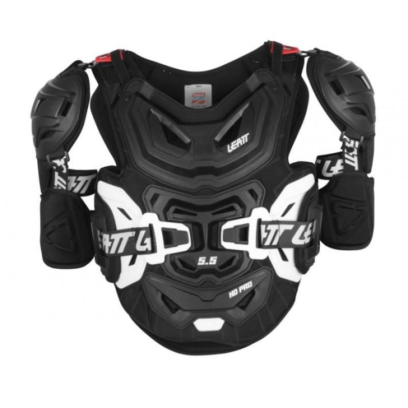 Защита панцирь Leatt Chest Protector 5.5 Pro HD Black, XXL