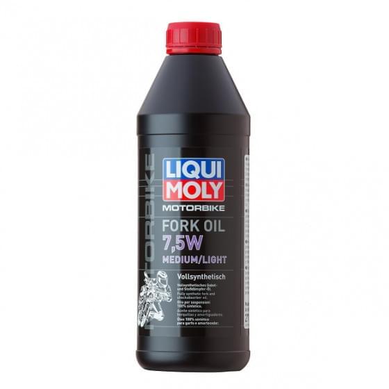 Масло для вилок Liqui Moly Motorrad Fork Oil 7.5W 0,5л