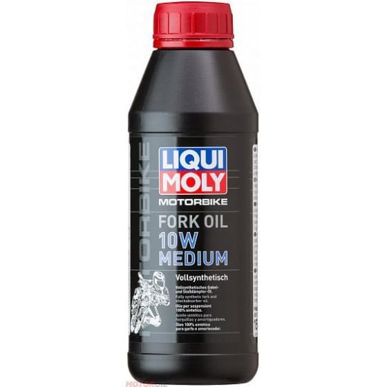 Масло для вилок Liqui Moly Motorrad Fork Oil 10W 0,5л
