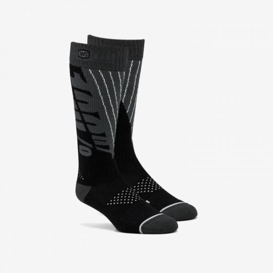 Носки 100% Torque Comfort Moto Socks Black S/M