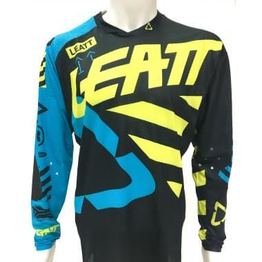 Мотоджерси Leatt GPX 5.5 UltraWeld Jersey Black/Lime M