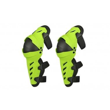 Защита колена шарнирная ATAKI SC-P212 Hi-Viz зеленая/черная