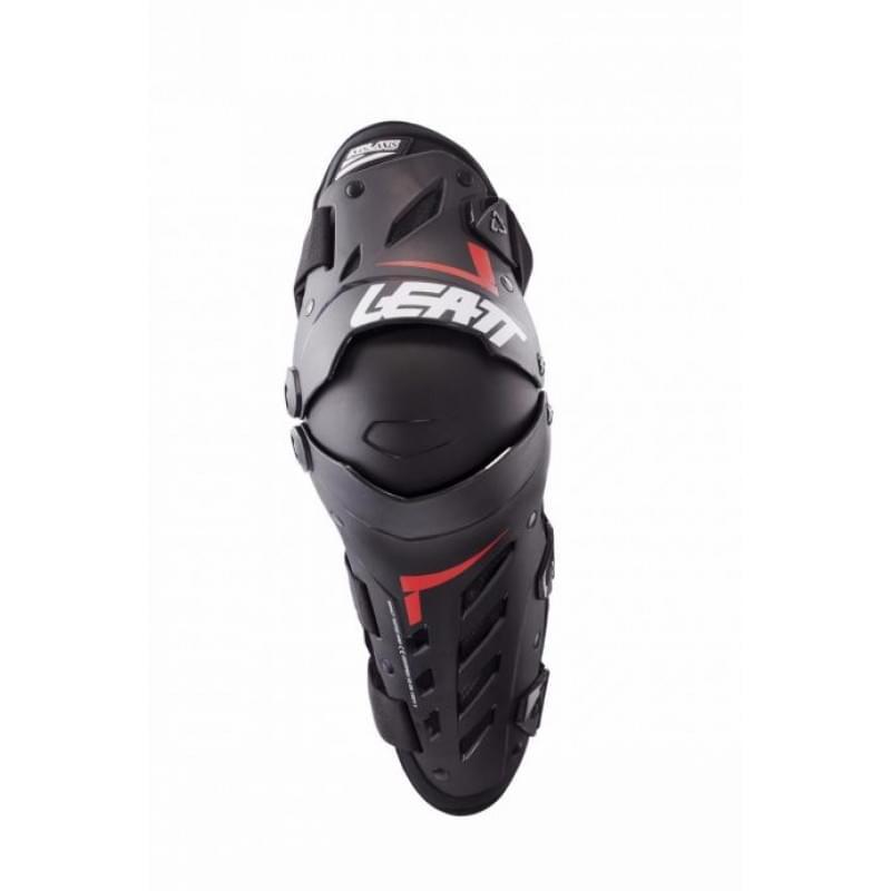 Наколенники Leatt Dual Axis Knee & Shin Guard Black/Red L/XL