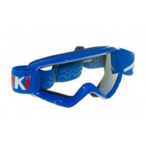 Очки для мотокросса детские ATAKI HB-115 синие глянцевые