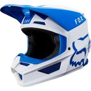 Мотошлем Fox V1 Mata Helmet Blue/White S 55-56cm