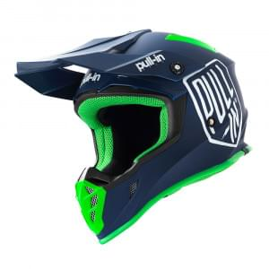 Шлем PULL-IN casque mx solid navy (L)